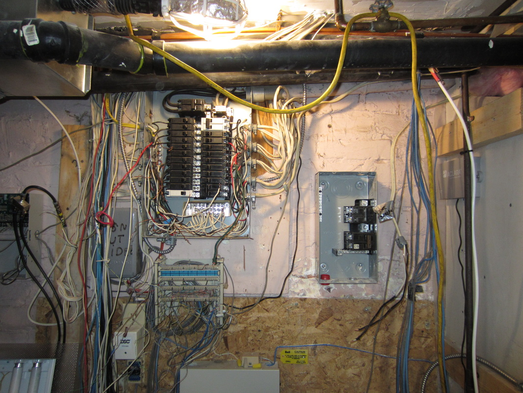 Electrical Rosehill Mechanical Inc Messy Wiring Unsafe